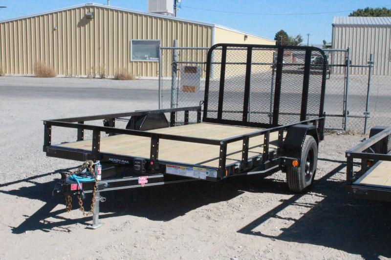 "PJ Trailers U7 12' x 77"" Single Axle Channel Utility Trailer $2795"