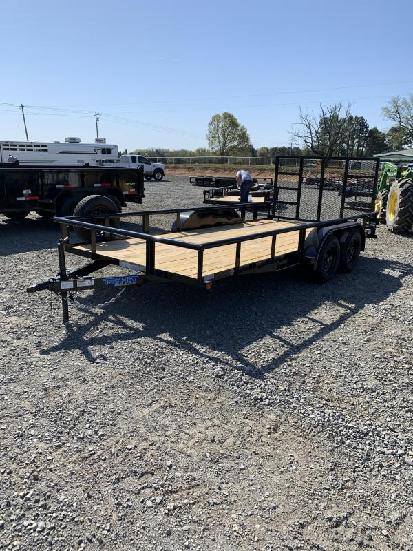2021 Top Hat Trailers 16x83 BP Utility Trailer