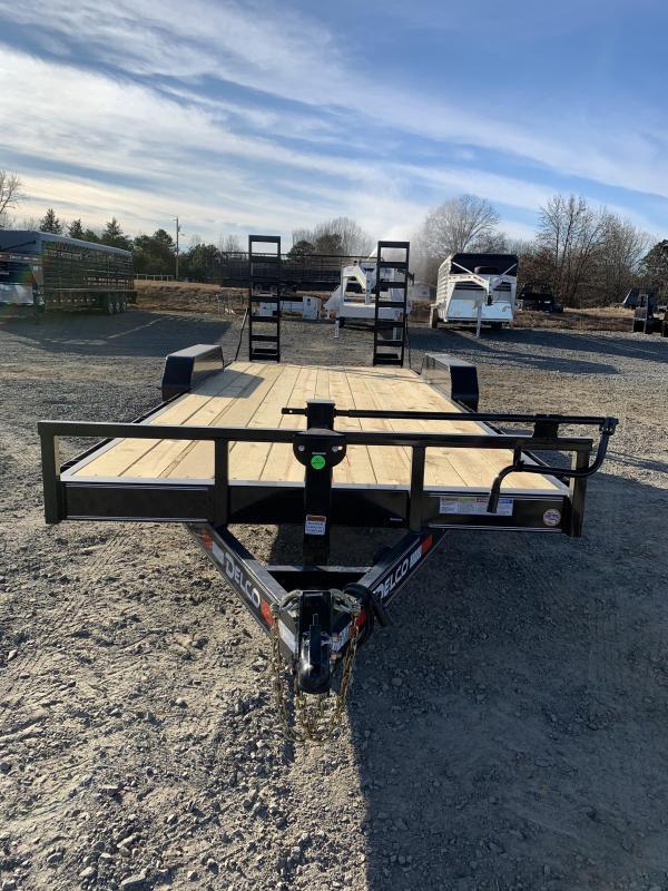 2020 Delco Trailers 18' plus 2' BP Equipment Hauler Trailer