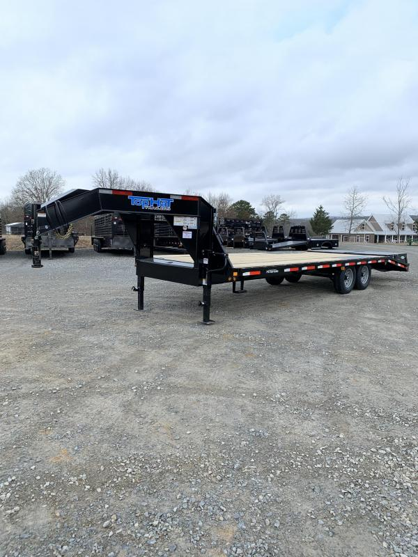 2020 Top Hat Trailers 20' plus 5' GN Flatbed Trailer