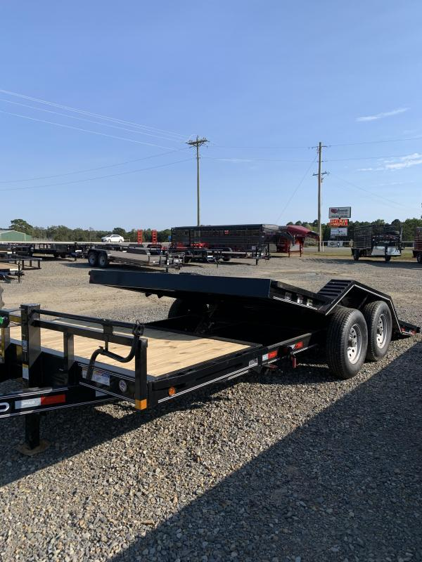 2021 Delco Trailers 20'x102'' BP Tilt Equipment Trailer
