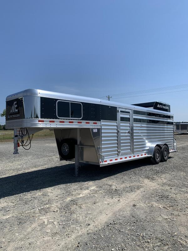 2021 Elite Trailers 7'x21' Stock Combo Trailer