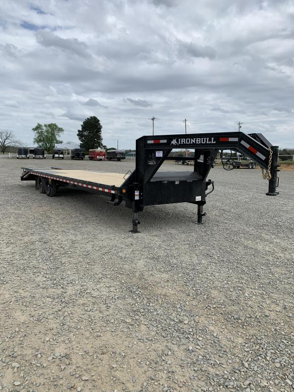 2021 Iron Bull 30' Flatbed Trailer