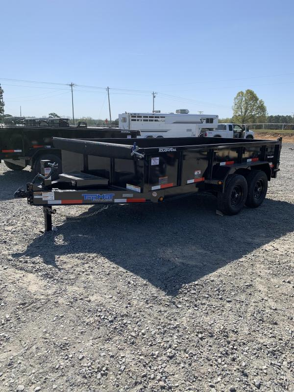 2021 Top Hat Trailers 14x7 BP Dump Trailer