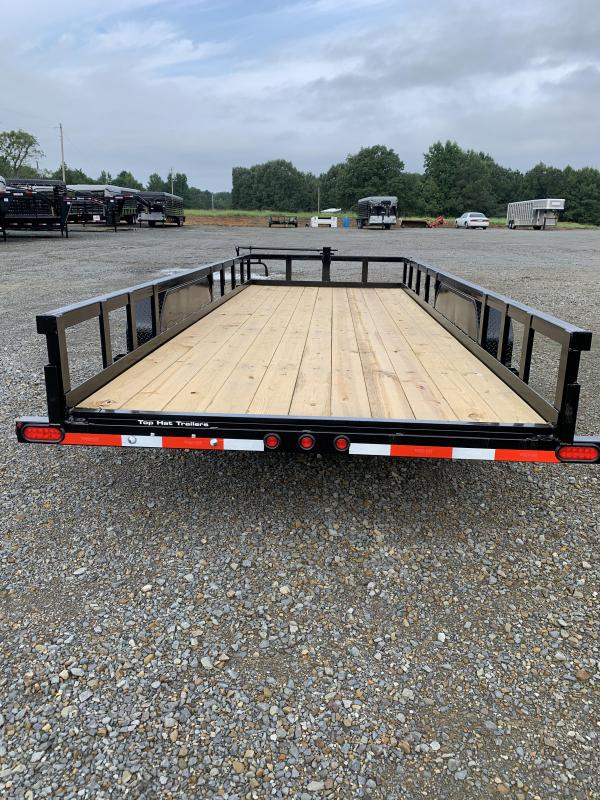 2020 Top Hat Trailers 20x83 BP Equipment Hauler Trailer