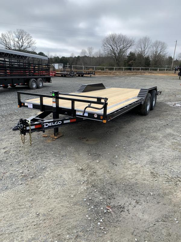 2021 Delco Trailers 20' BP Equipment Hauler Trailer