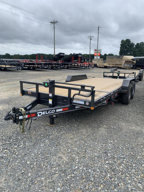 2021 Delco Trailers 20'x83'' BP Tilt Equipment Trailer