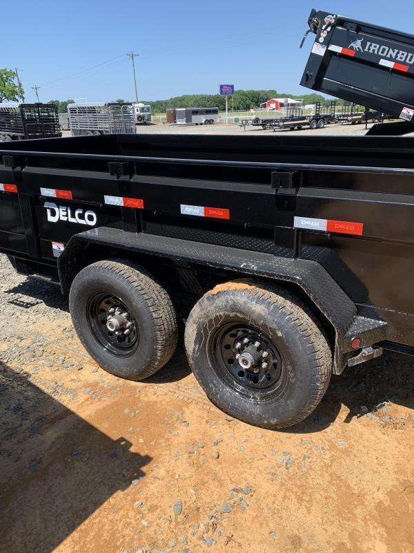 2021 Delco Trailers 14x83 BP Dump Trailer