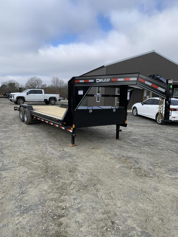 2021 Delco Trailers 24' GN Equipment Hauler Trailer
