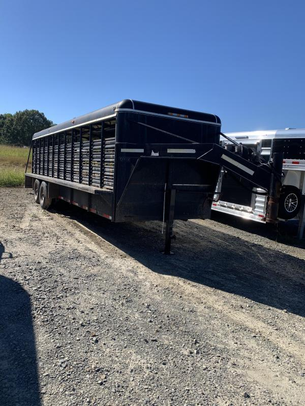2002 Coose 24x6.8 Stock Trailer