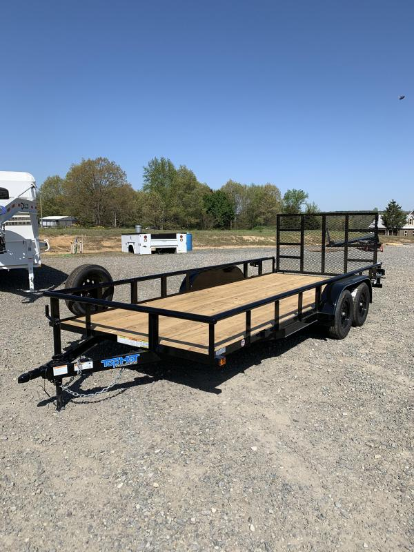 2021 Top Hat Trailers 18x83 BP Utility Trailer