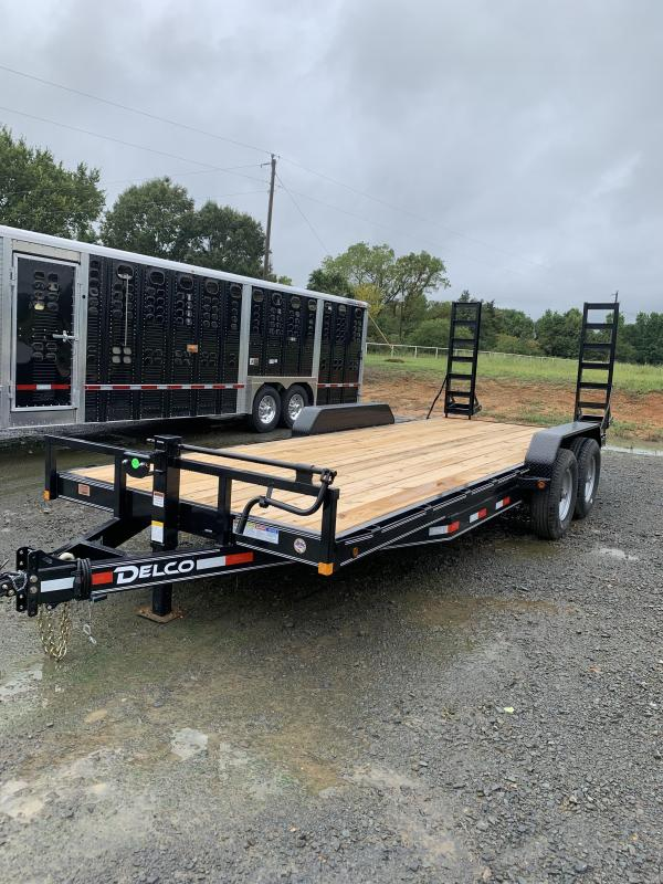2021 Delco Trailers 20x83 BP Equipment Hauler Trailer