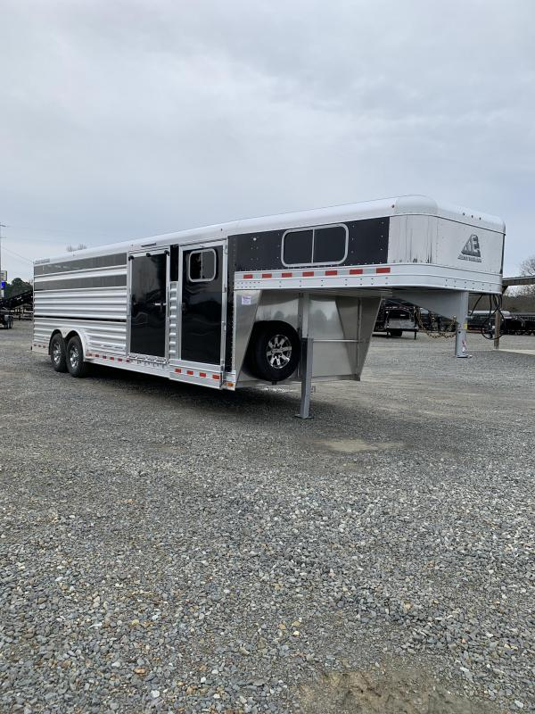 2020 Elite Trailers 8'x25' Show Cattle Stock Trailer