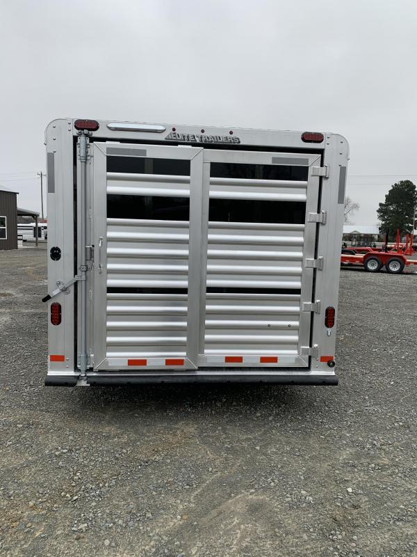 2021 Elite Trailers 8'x30' Show Cattle Stock Combo Trailer
