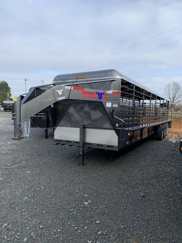 2020 Neckover Trailers 32x6.8 Metal Top Stock Trailer