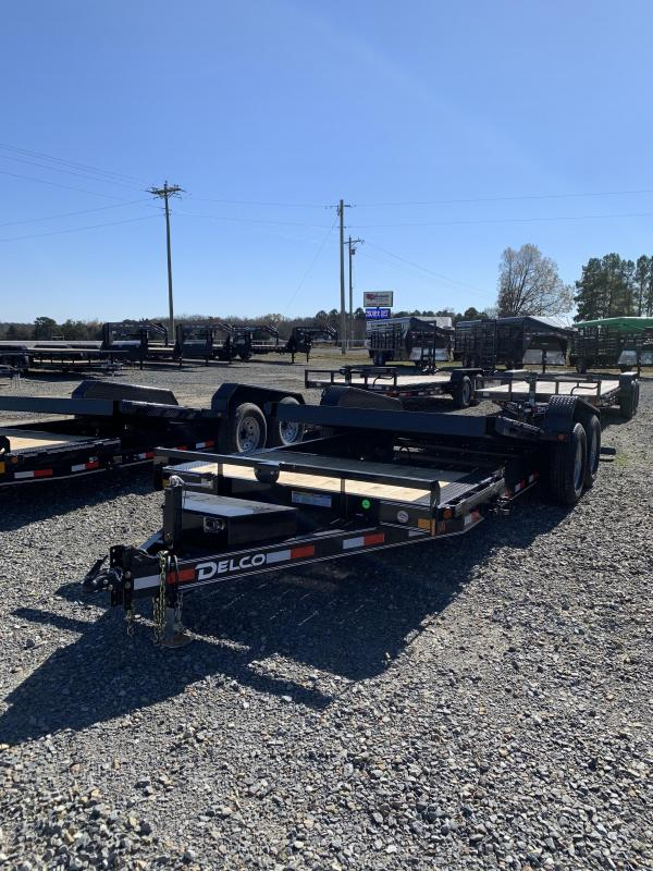 2021 Delco Trailers 20x83 BP Tilt Equipment Equipment Trailer