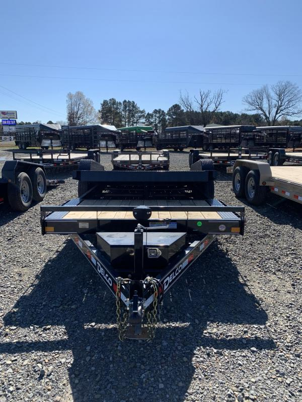 2021 Delco Trailers 20x83 BP Tilt Equipment Equipment Trailer