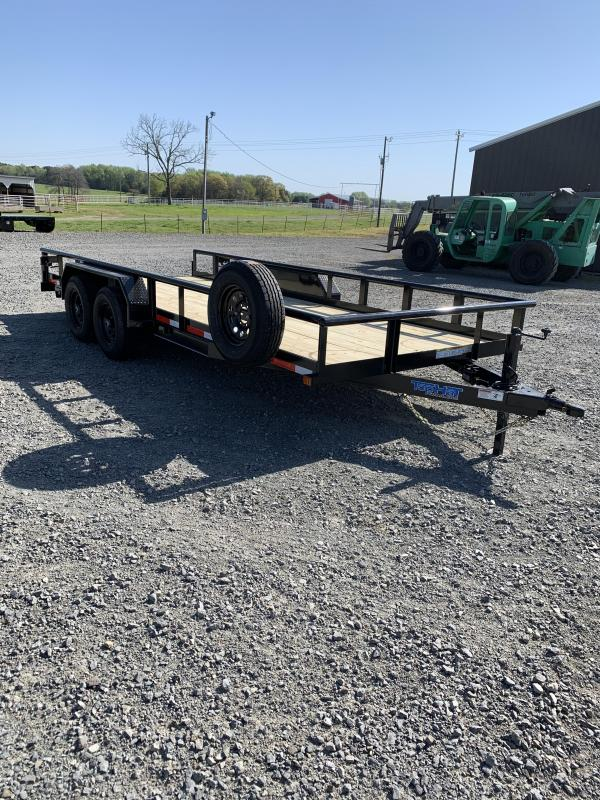 2021 Top Hat Trailers 18x83 BP Equipment Hauler Trailer