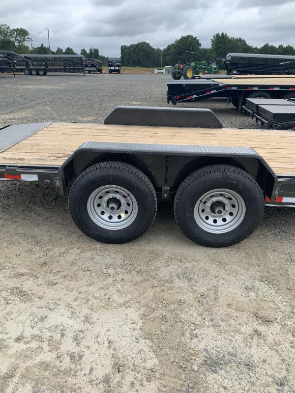2021 Delco Trailers 18' plus 2' BP Equipment Hauler Trailer