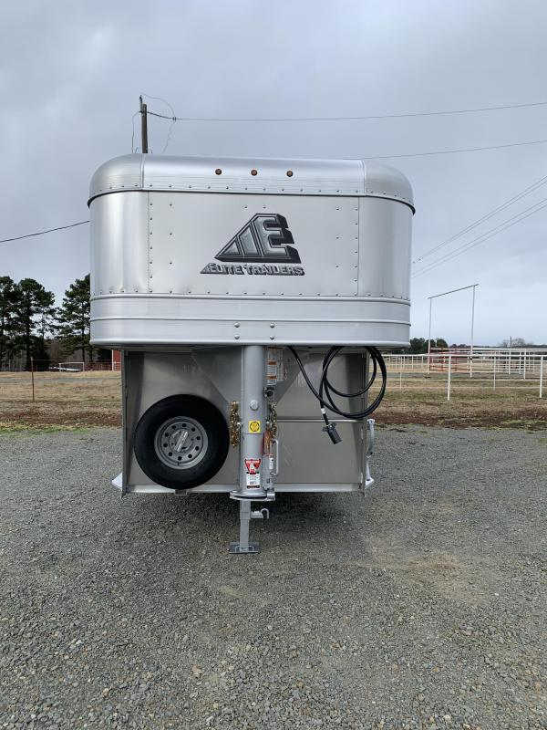2021 Elite Trailers 7'x24' Stock Trailer