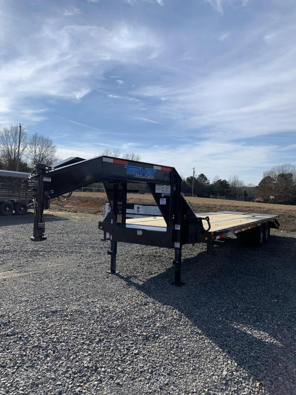 2021 Top Hat Trailers 25' plus 5' GN Flatbed Trailer