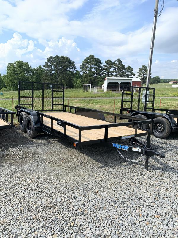 2020 Top Hat Trailers 16x83 BP Utility Trailer