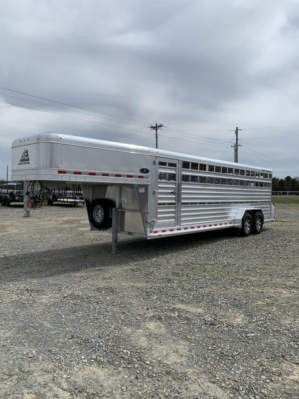 2022 Elite Trailers 7'x24' Stock Trailer