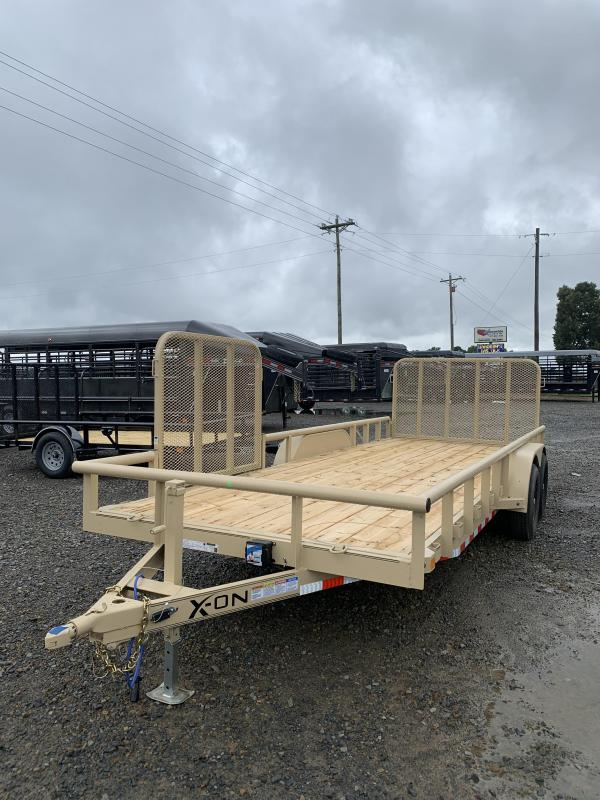 2020 X-On 20x83 BP Equipment Hauler Trailer