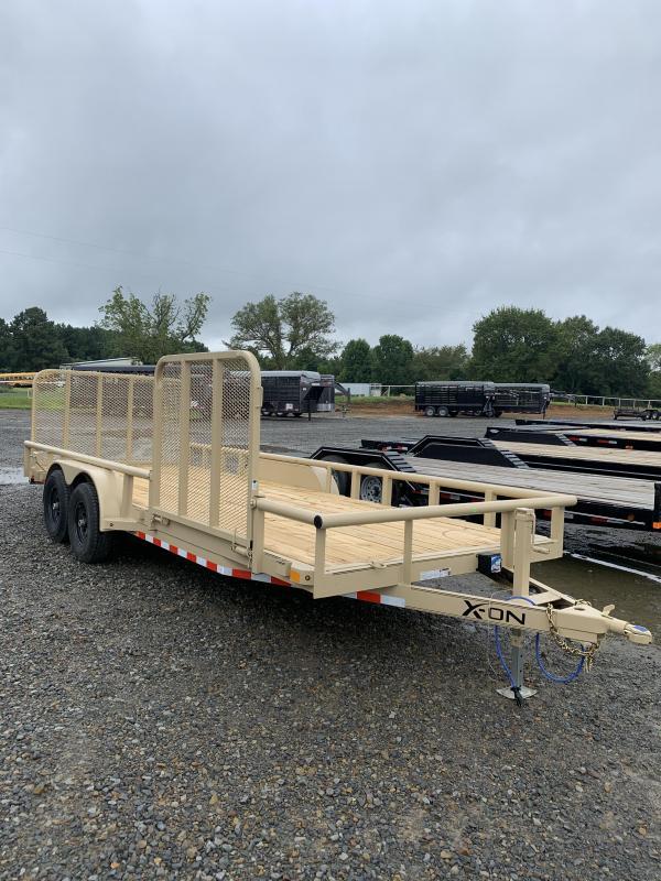 2020 X-On 20x83 BP Equipment Hauler Trailer