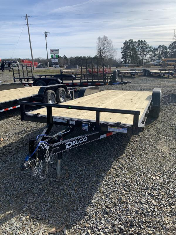 2021 Delco Trailers 20x83 BP Car Hauler Trailer