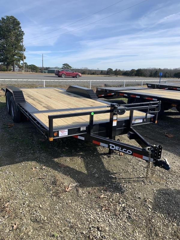 2021 Delco Trailers 20x102 BP Tilt Equipment Equipment Trailer
