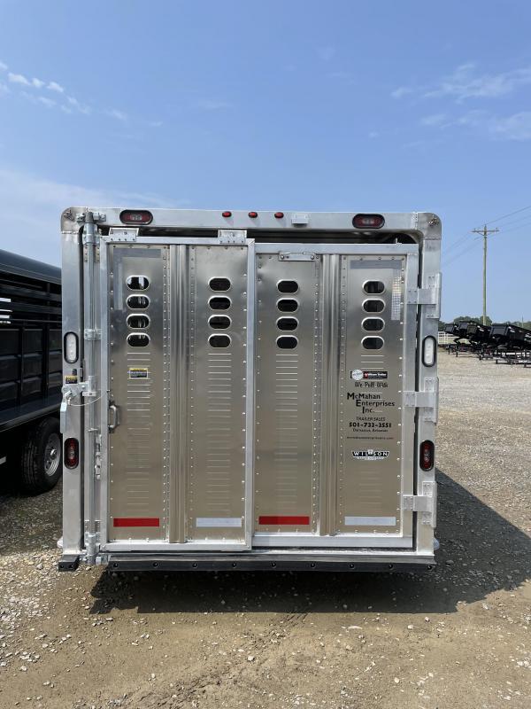 2022 Wilson Trailer Company 7'x24' Ranch Hand Livestock Trailer