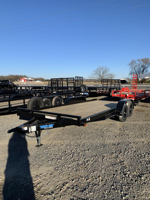 2021 Top Hat Trailers 18x83 BP Car Hauler Trailer