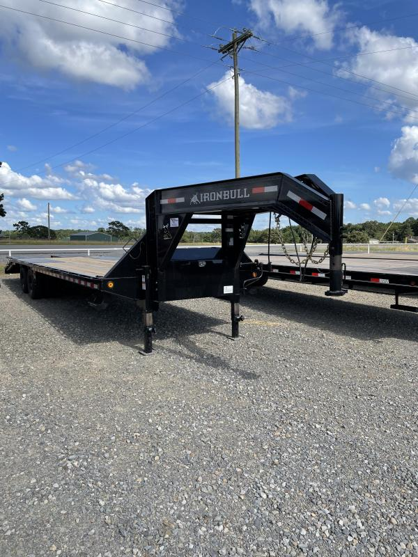 2021 Iron Bull 32' GN Flatbed Trailer
