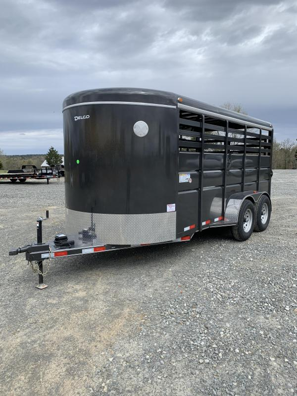 2021 Delco Trailers 16x6.8 BP Stock Trailer