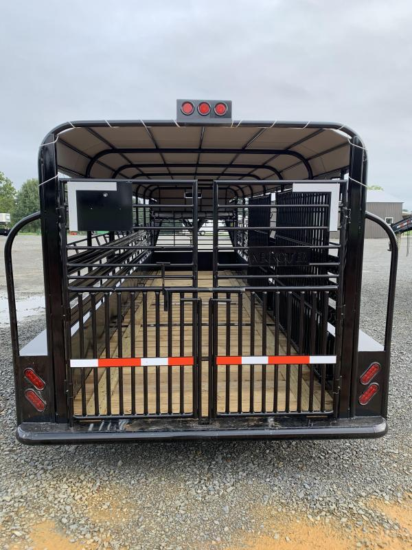 2020 Neckover Trailers 24x6.8 Stock Livestock Trailer