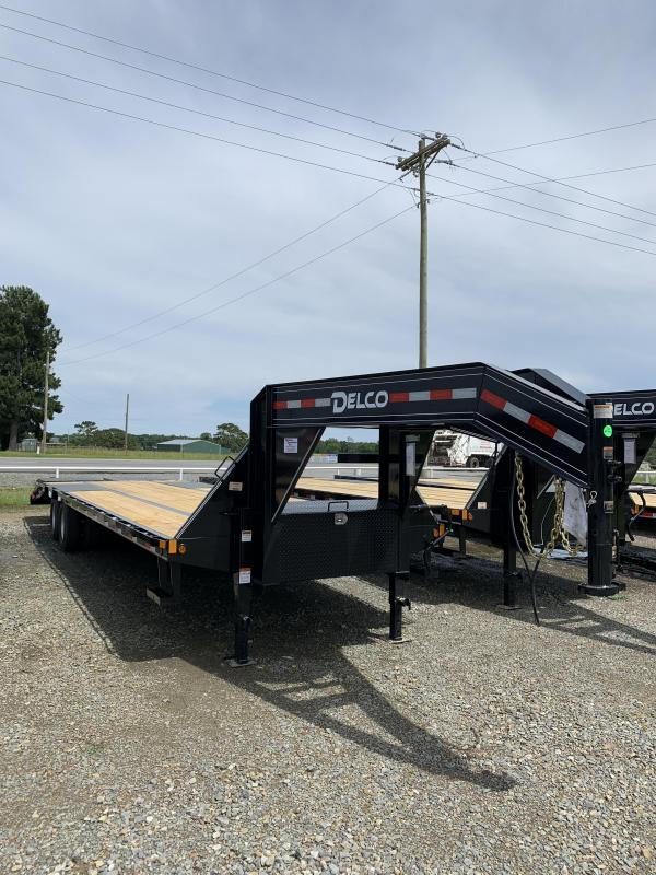 2020 Delco Trailers 27' plus 5' Flatbed Trailer