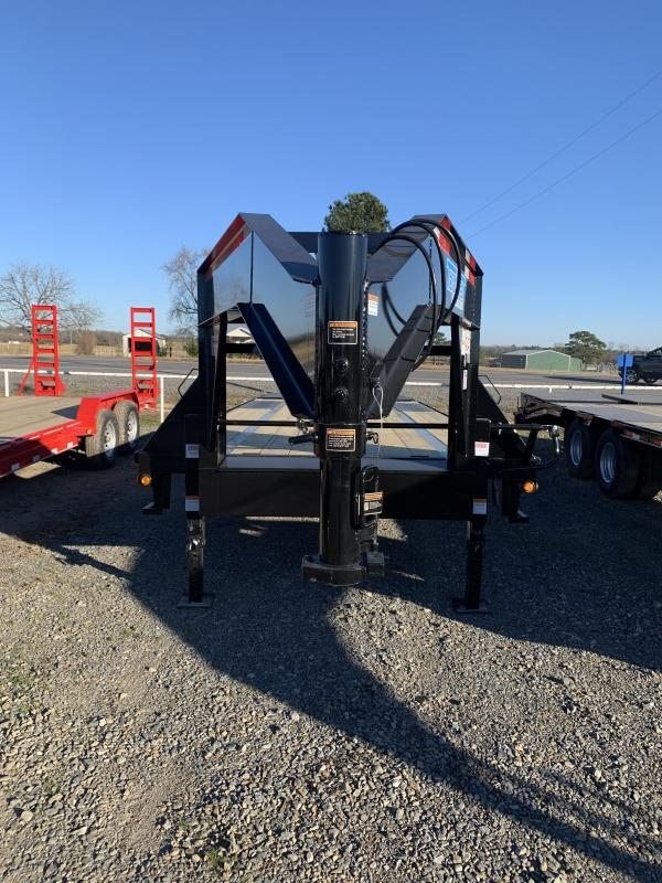 2021 Top Hat Trailers 20' plus 5' GN Flatbed Trailer