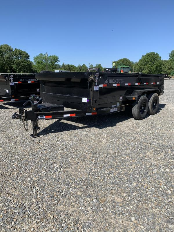 2021 Iron Bull 14x83 BP Dump Trailer