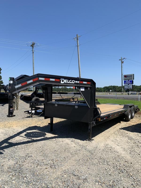 2021 Delco Trailers 24' GN Equipment Hauler Trailer