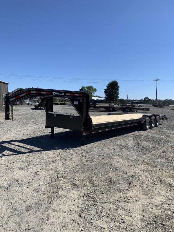 2021 Delco Trailers 32' GN Equipment Hauler Trailer