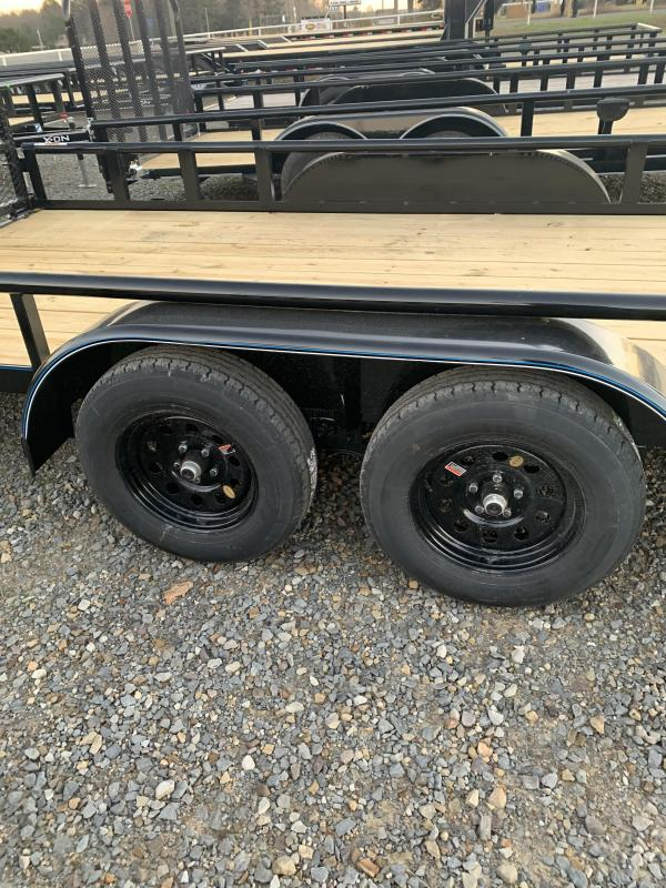 2021 Top Hat Trailers 20x83 BP Utility Trailer