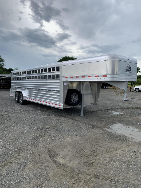 2021 Elite Trailers 7.5'x24' Stock Trailer