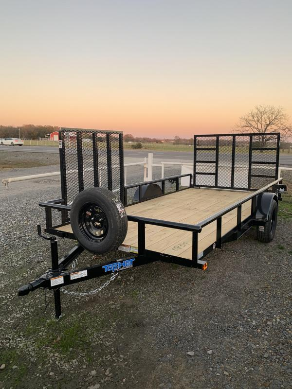 2021 Top Hat Trailers 14x77 BP Utility Trailer