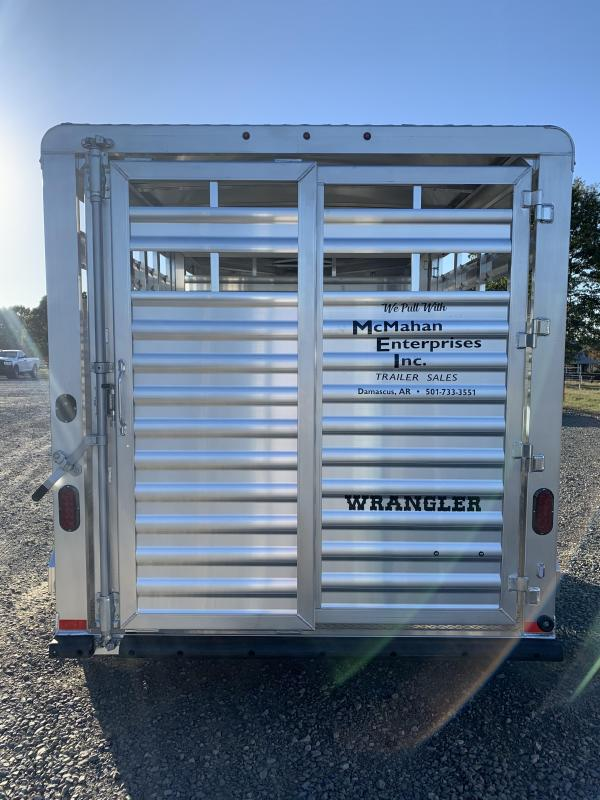 2021 Elite Trailers 14' BP Stock Livestock Trailer