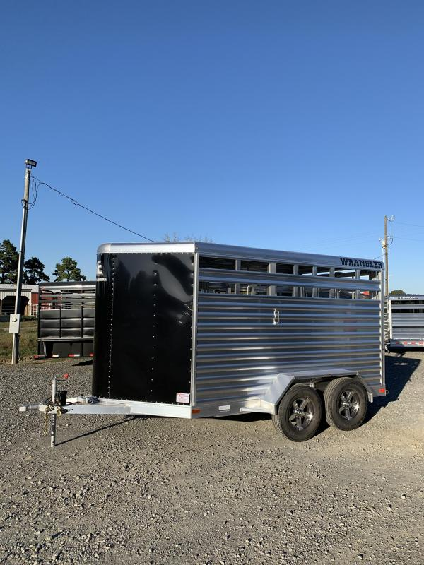 2021 Elite Trailers 14' BP Stock Livestock Trailer
