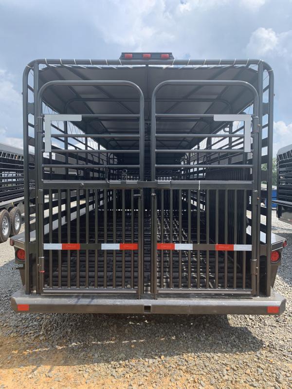 2020 Delco Trailers 24x6.8 Livestock Trailer