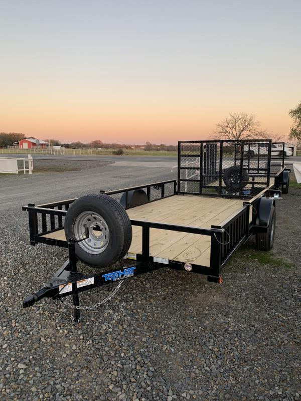 2021 Top Hat Trailers 14x83 BP Utility Trailer