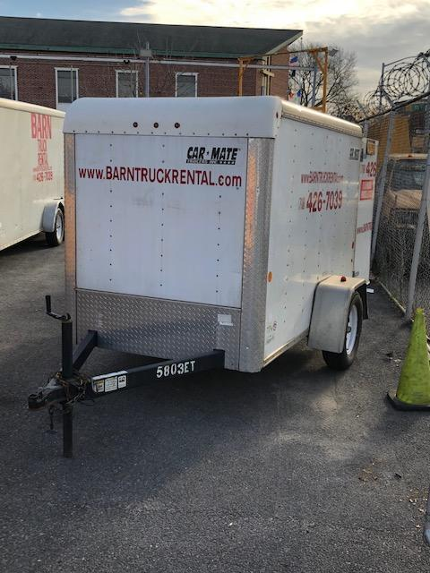 2013 Car Mate Trailers 5x8 Custom Cargo Enclosed Cargo Trailer