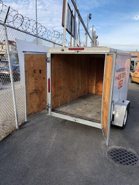 2013 Car Mate Trailers 5x8 Custom Cargo Enclosed Cargo Trailer